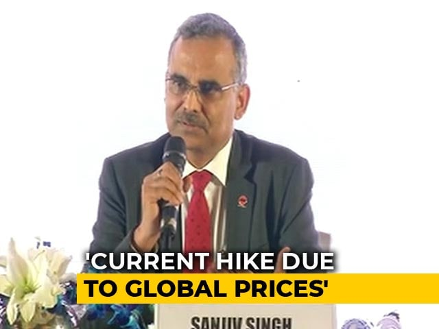 Video : Indian Oil Chief Explains Oil Price Freeze Ahead Of Karnataka Elections