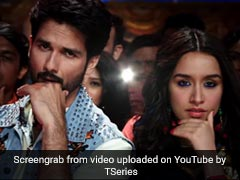<I>Batti Gul Meter Chalu</I>'s <I>Hard Hard</I>: Shahid Kapoor And Shraddha Kapoor's Song Is For The Party Animals Out There