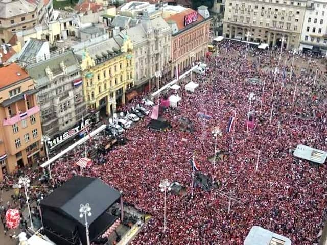 BEST OF WORLD CUP 2018: Thats how runner up Croatia got such a mesmerizing welcome back in country