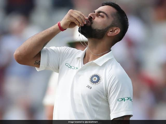 India vs England: How Kohli Kissing Weeding Ring After Great Century