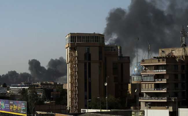 Ballot Box Storage Site Catches Fire In Baghdad