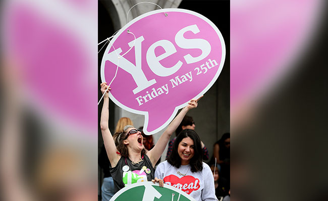 Ireland Votes To Overturn Abortion Ban, 'Culmination Of A Quiet Revolution,' Prime Minister Says