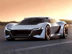 Audi PB 18 E-Tron Concept Car Unveiled At Laguna Seca