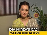 Video: Dia Mirza Launches India's First Wildlife Anthem; Opens Up About Lynching In The Name Of Cow