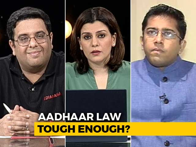 Video : TRAI Chief's Dare: How Safe Is Your Aadhaar?
