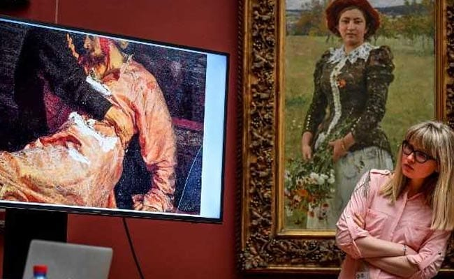 Russia Urges Harshest Punishment For Ivan The Terrible Painting Attacker