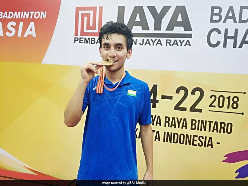 Lakshya Sen Stuns Top Seed To Bag Gold At Asia Junior Championship