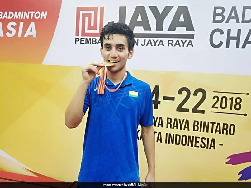 Lakshya Sen Stuns Thai Top Seed To Bag Gold Medal At Asia Junior Badminton Championship