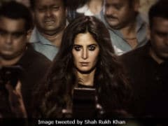 On Katrina Kaif's Birthday, Shah Rukh Khan Shares Her First Look In Zero + Funny Caption