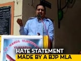 Video : Would Have Got Intellectuals Shot If I Were Home Minister: BJP Lawmaker