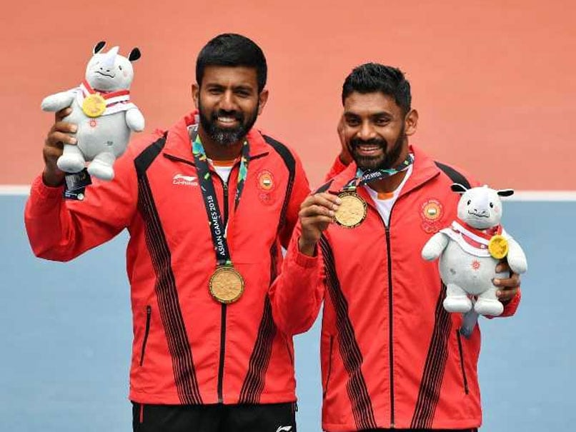 Asian Games 2018: Rohan Bopanna-Divij Sharan Clinch Gold Medal In Men