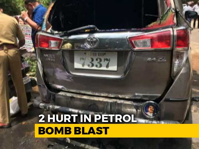 Video : TTV Dhinakaran's Car Attacked With Petrol Bomb, Driver Injured