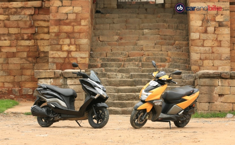 The Suzuki Burgman Street is Rs. 8,313 more expensive than the TVS NTorq 125