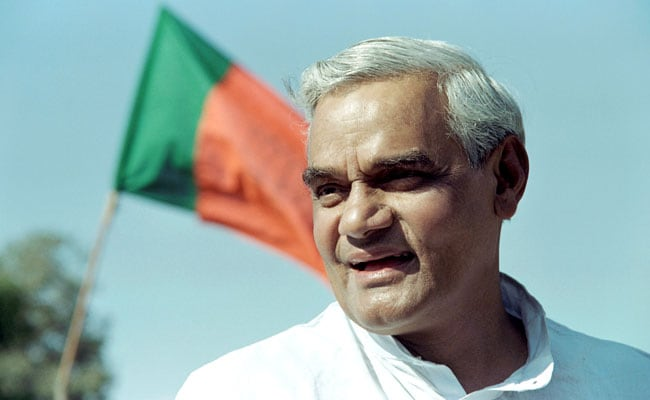 Lucknow's Hazratganj Chauraha To Be Renamed After Atal Bihari Vajpayee