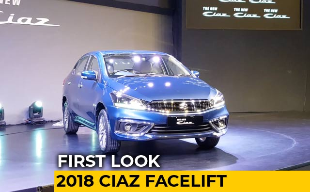 Maruti Suzuki Ciaz Facelift: First Look