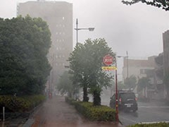 Typhoon Jebi Makes Landfall In Japan, 500 Flights Cancelled
