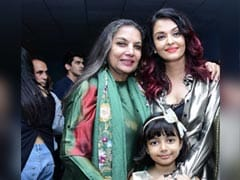 <I>Fanney Khan</I>: Aaradhya Watches Mom Aishwarya Rai Bachchan's Film