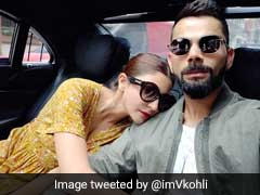 Virat Kohli, Anushka Sharma Pack On The PDA In Their Latest Twitter Post