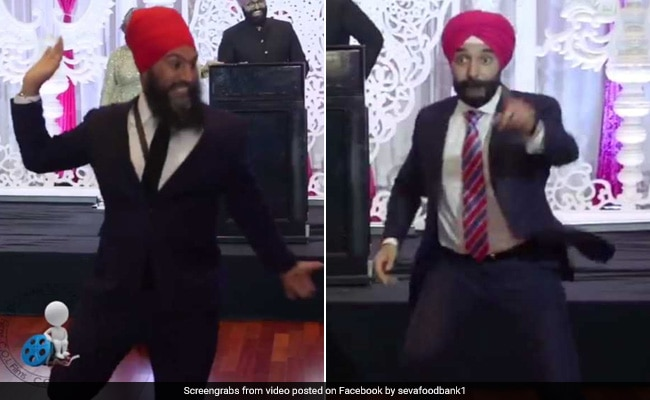 Watch: 2 Sikh Politicians In Canada Had A Bhangra Dance-Off For A Good Cause