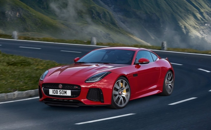 The Jaguar F-Type SVR is the fastest production car the company has ever built