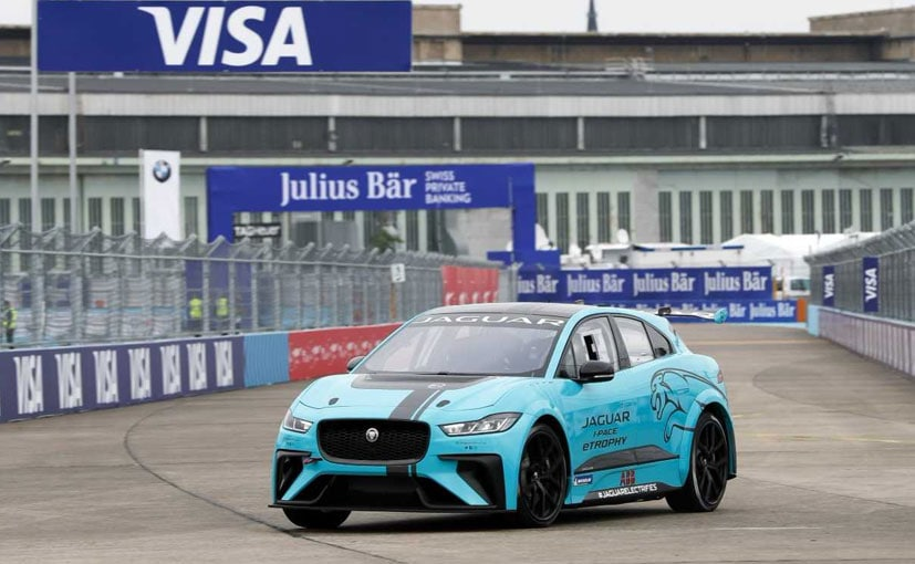 The Jaguar I Pace Etrophy At Tempelhof Circuit In Berlin