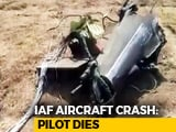 Video : Pilot Killed After Air Force's Jaguar Crashes In Gujarat