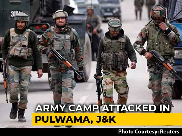 Video : Soldier Killed In Terror Attack On Army Camp In Kashmir's Pulwama