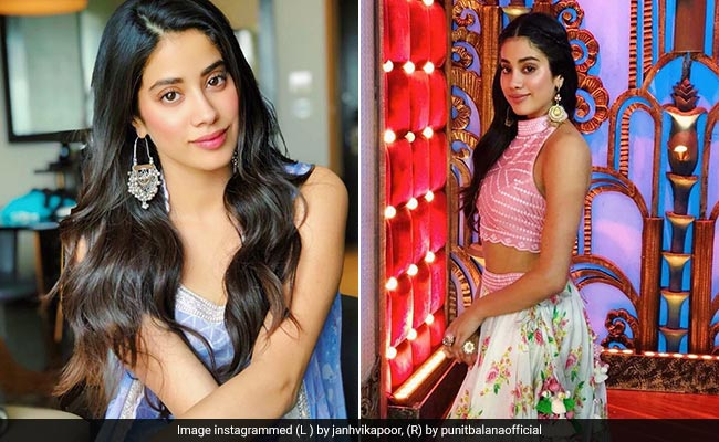 Janhvi Kapoor Makes Ethnic Wear Trendy, Outfit By Outfit