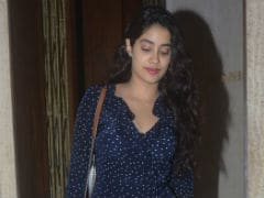 What Janhvi Kapoor Did Two Days Before The Release Of <i>Dhadak</i> Trailer