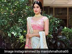 Janhvi Kapoor Is Most Fashionable In Manish Malhotra