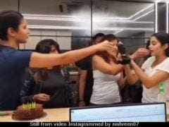 Gym Buddies Katrina Kaif And Janhvi Kapoor Eat Birthday Cake Together