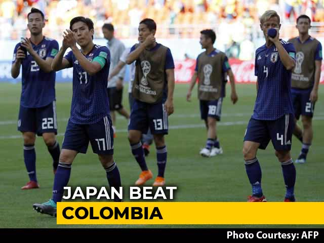 Video : FIFA World Cup 2018: Japan Beat 10-Man Colombia, Egypt Crushed By Russia