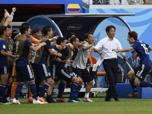 World Cup 2018: Japan Put Party On Hold After Making World Cup History