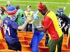 Japan, Senegal Match Ends In Tie. Fans Win Hearts By Cleaning Up Stands