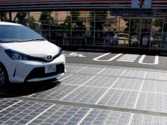 Sunrays Hitting The Road Can Generate Power. Tokyo Shows How