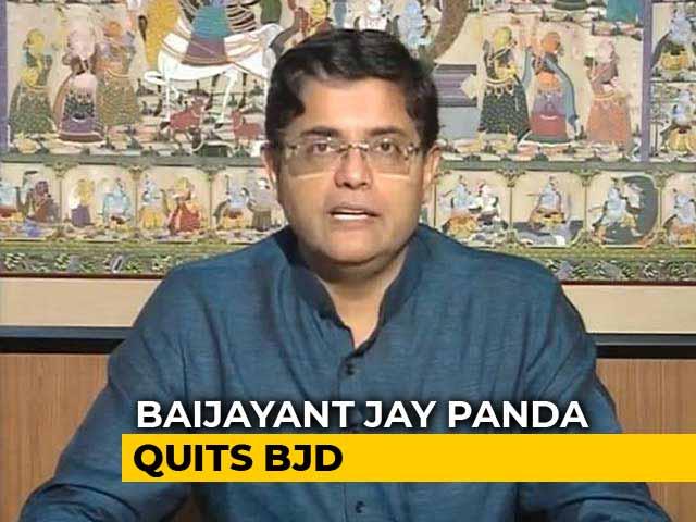Video : Jay Panda Quits BJD Amid Rift With Chief Minister Naveen Patnaik