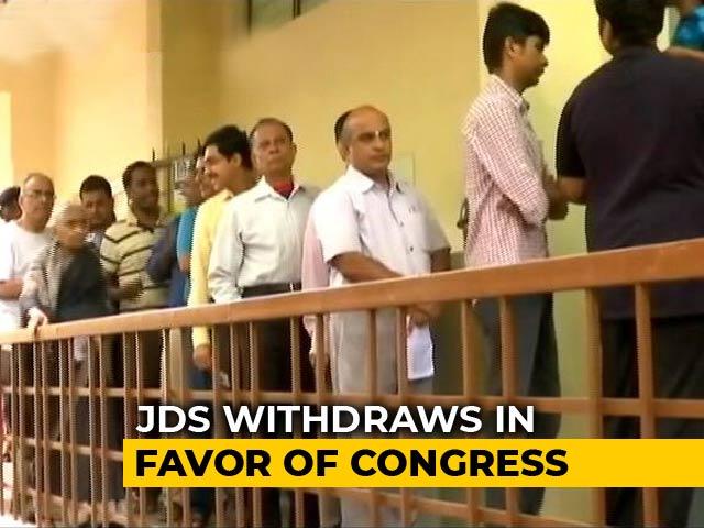 Video : A BJP-Congress Direct Contest In Karnataka's Jayanagar, After JDS Exit
