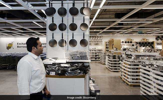 The first IKEA store opened in India and it was intense