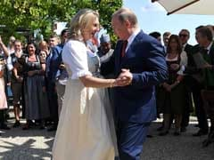 Russian President Putin Steals The Show At Austrian Minister's Wedding