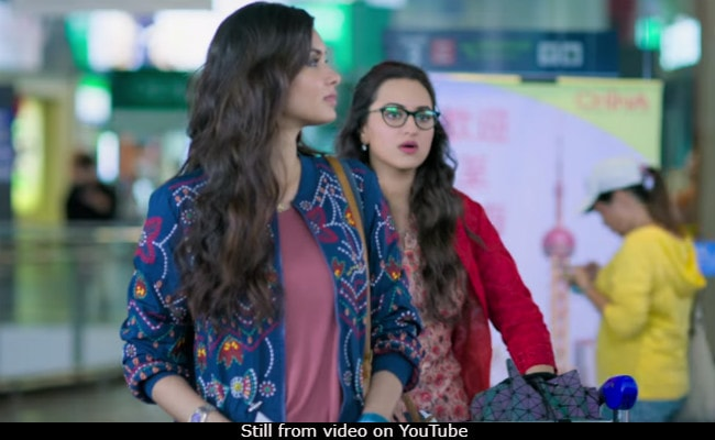 Happy Phirr Bhag Jayegi Trailer: Sonakshi Sinha, Diana Penty's 'Happy' Comedy Of Errors