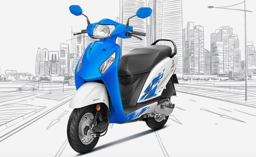 The 2018 Honda Activa-i is now offered in five new colours