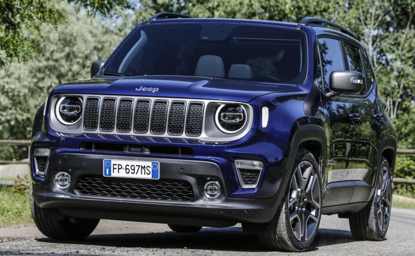 Jeep reveals India-bound Renegade SUV ahead of Turin Motor Show