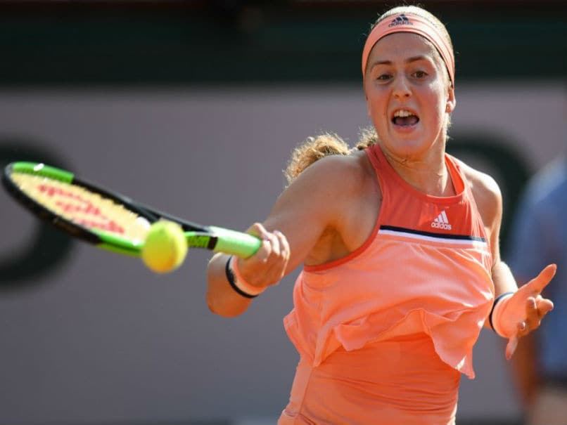 French Open 2018: Defending Champion Jelena Ostapenko Crashes Out In Roland Garros First Round
