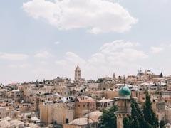 A Model Posed Nude Above Jerusalem Shrine. It Has Sparked Outrage