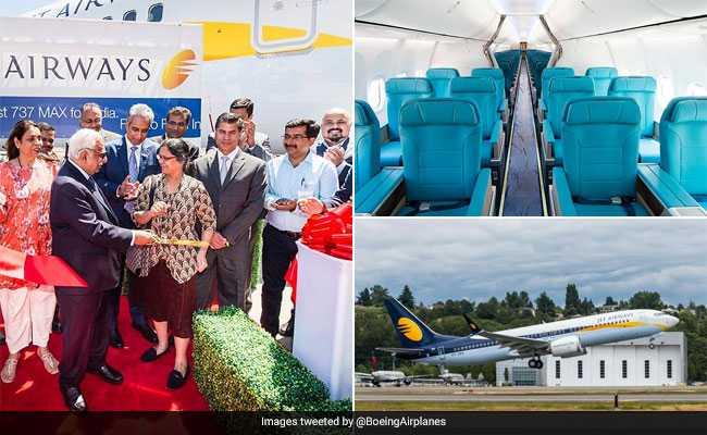 Jet Airways Inducts Maiden Boeing 737 Max Aircraft In India