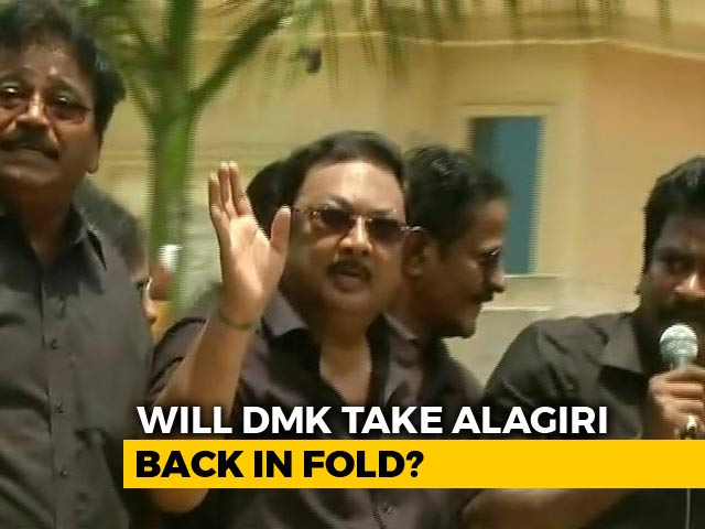 Video : Alagiri's Chennai Show Of Strength Today, After Feelers To Brother Stalin