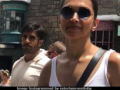 Don't You Lose It Seeing Deepika Padukone And Ranveer Singh In Disneyland Hand-In-Hand