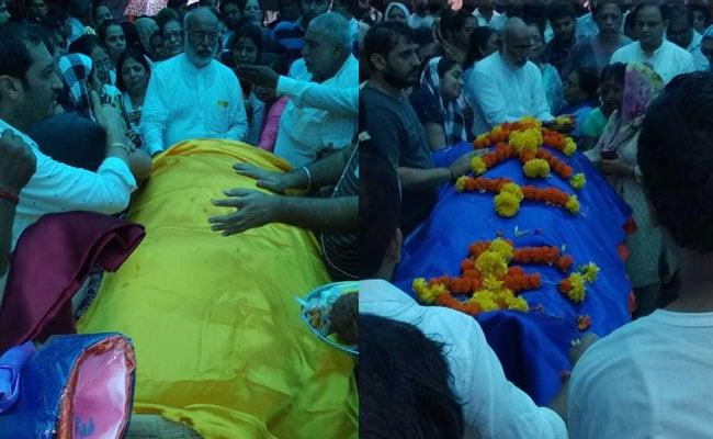 Taarak Mehta Ka Ooltah Chashmah के कवि कुमार आजाद उर्फ डॉ. हंसराज हाथी का अंतिम संस्कार