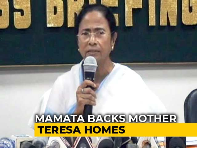 Video : Mamata Banerjee Finds A Culprit In Baby Trafficking Controversy -- BJP