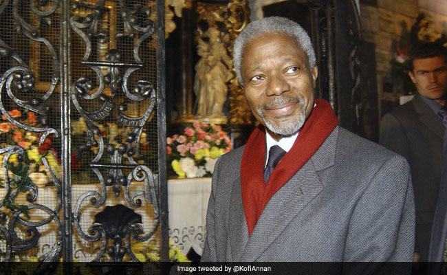 संयुक्त राष्ट्र संघ के पूर्व महासचिव कोफी अन्नान का 80 साल की उम्र में निधन
